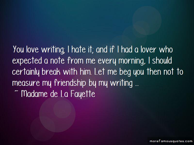 Madame De La Fayette Quotes Pictures 3