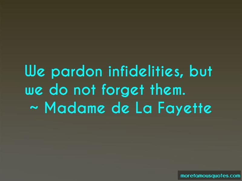 Madame De La Fayette Quotes