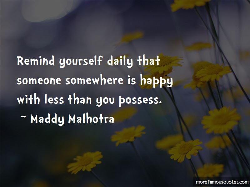 Maddy Malhotra Quotes Pictures 2