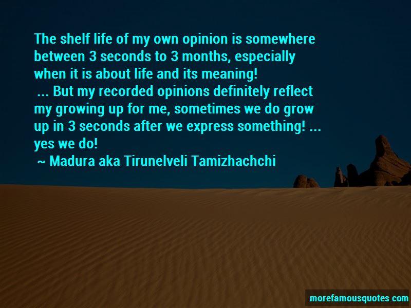 Madura Aka Tirunelveli Tamizhachchi Quotes