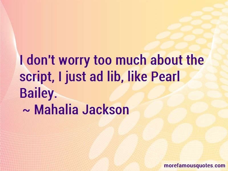 Mahalia Jackson Quotes Pictures 4