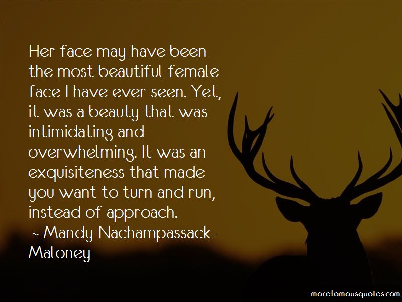 Mandy Nachampassack-Maloney Quotes Pictures 3