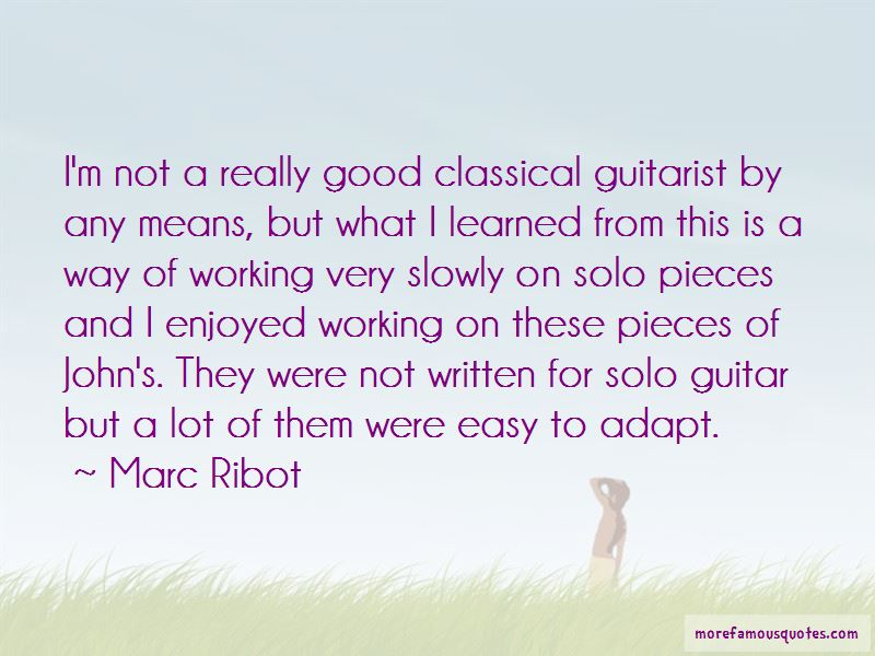 Marc Ribot Quotes