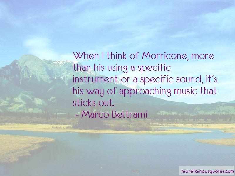 Marco Beltrami Quotes Pictures 4