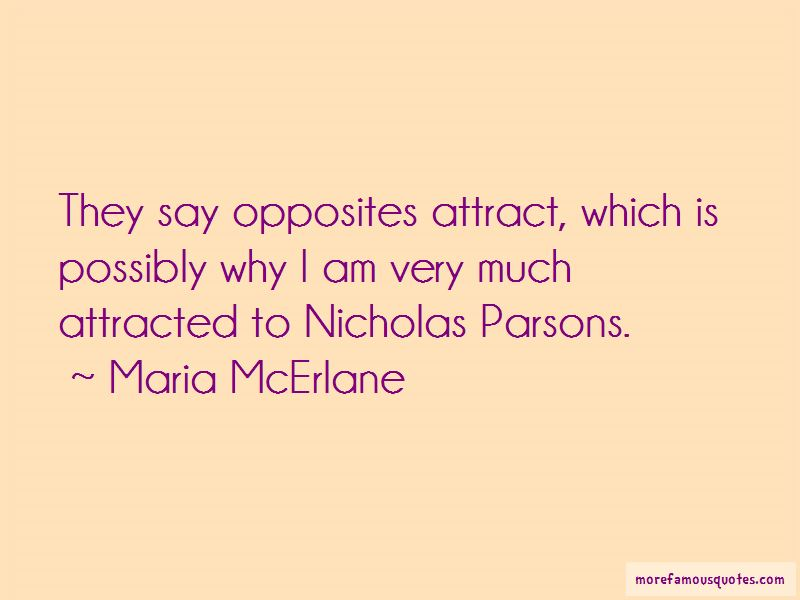 Maria McErlane Quotes