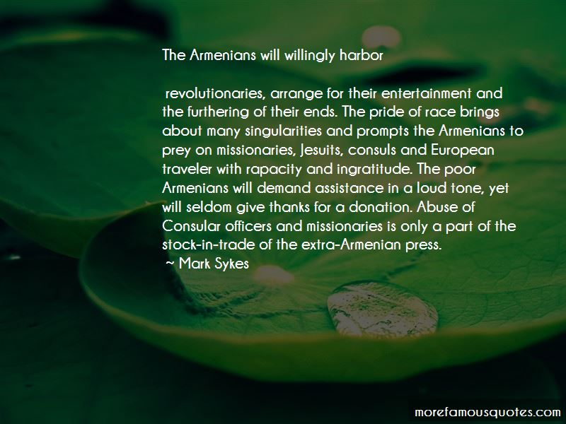 Mark Sykes Quotes