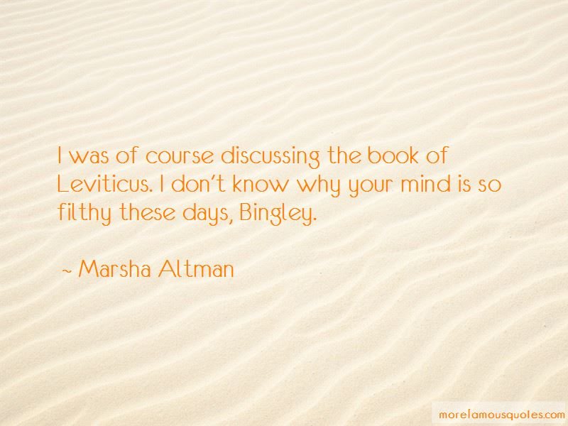 Marsha Altman Quotes Pictures 2