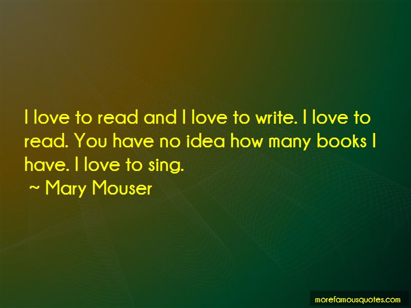 Mary Mouser Quotes Pictures 2