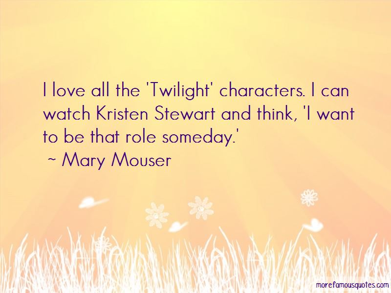 Mary Mouser Quotes Pictures 3