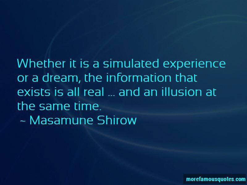 Masamune Shirow Quotes