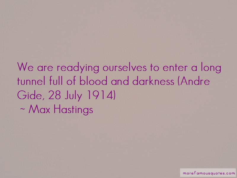 Max Hastings Quotes