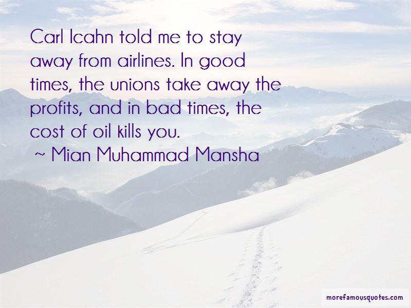 Mian Muhammad Mansha Quotes