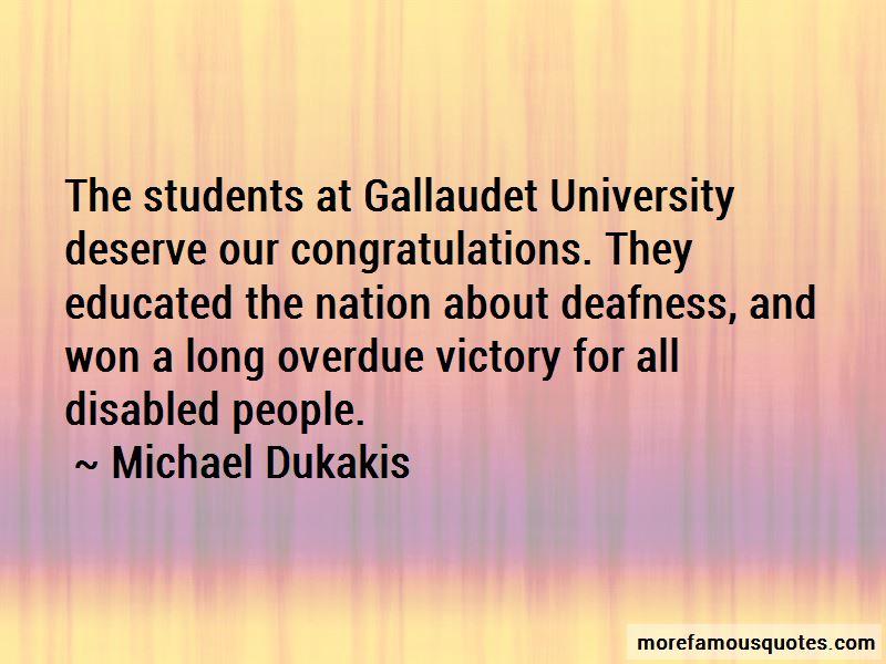 Michael Dukakis Quotes