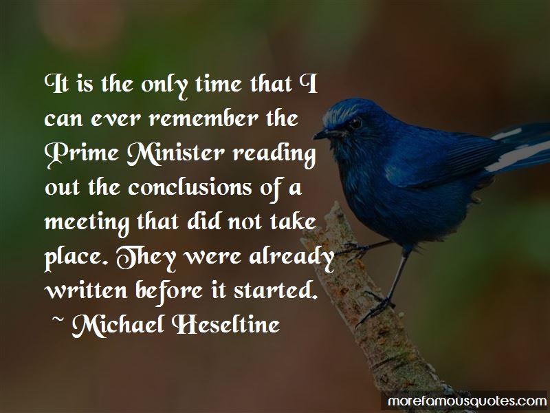 Michael Heseltine Quotes