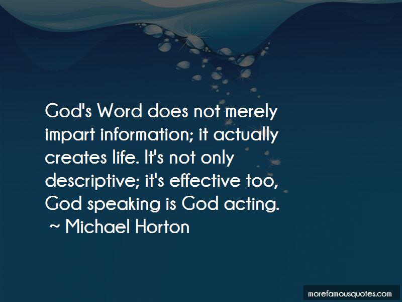 Michael Horton Quotes Pictures 3