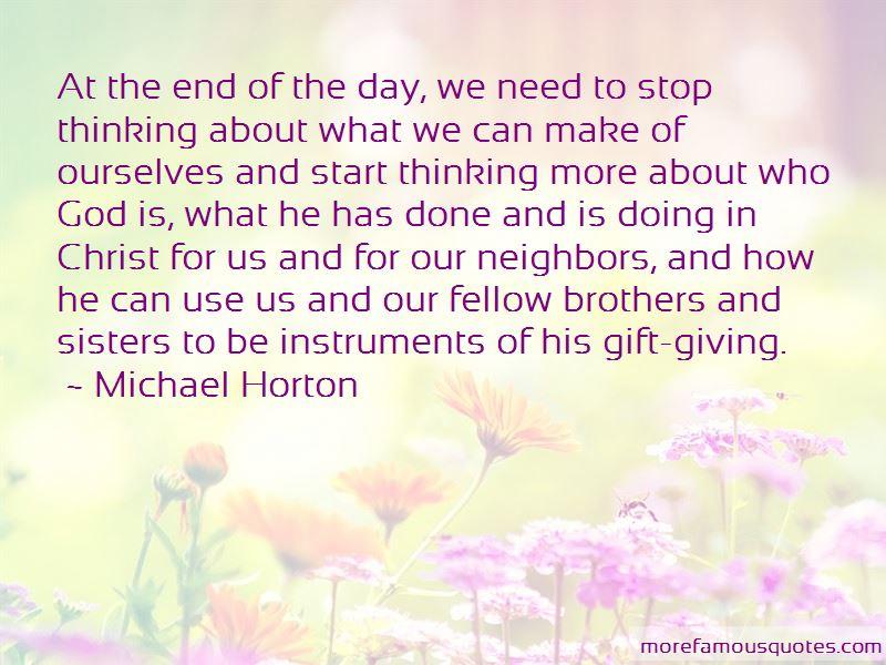 Michael Horton Quotes Pictures 4