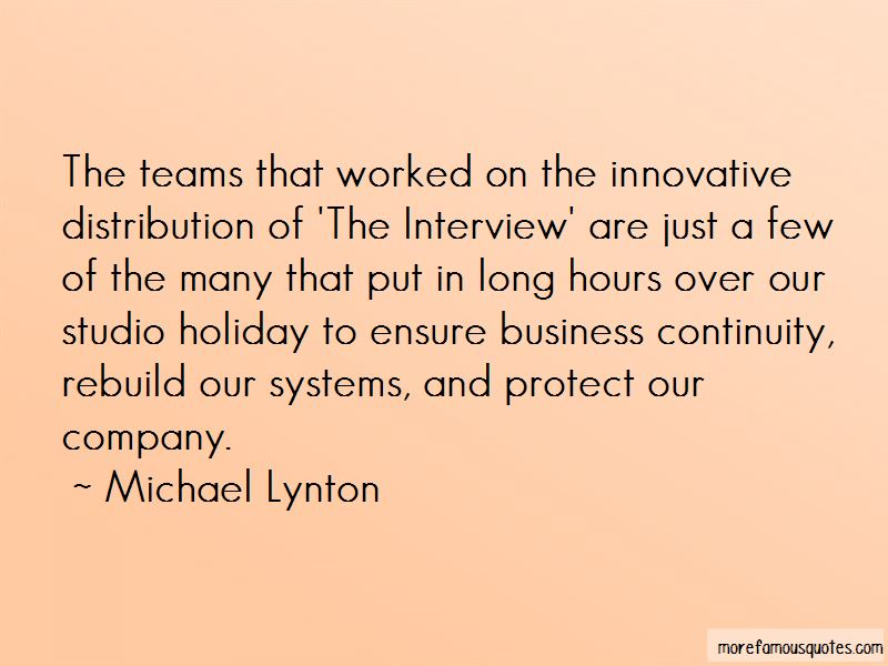 Michael Lynton Quotes Pictures 3