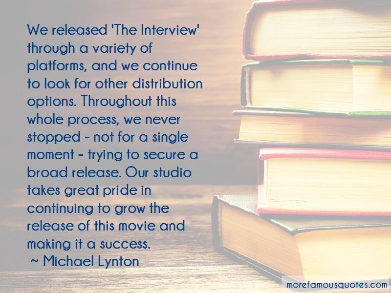 Michael Lynton Quotes
