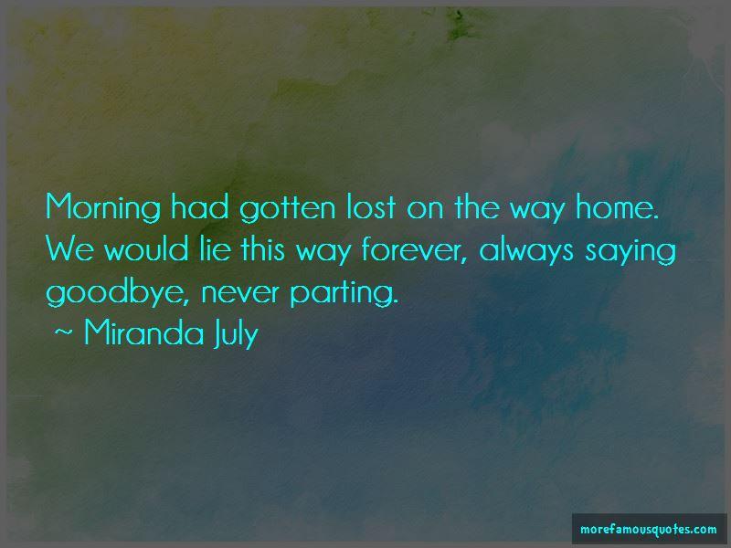 Miranda July Quotes