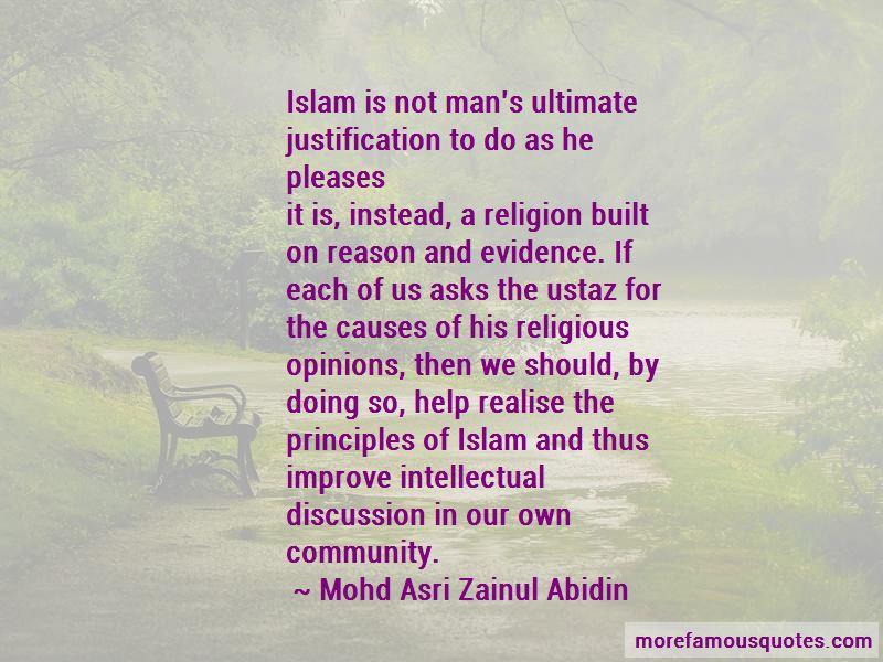Mohd Asri Zainul Abidin Quotes
