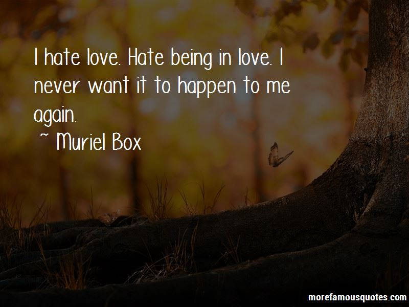 Muriel Box Quotes