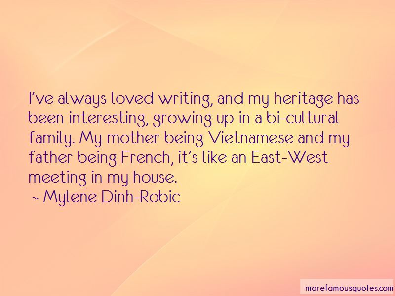 Mylene Dinh-Robic Quotes