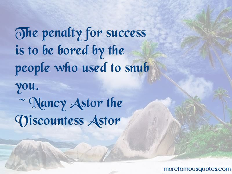 Nancy Astor The Viscountess Astor Quotes Pictures 3