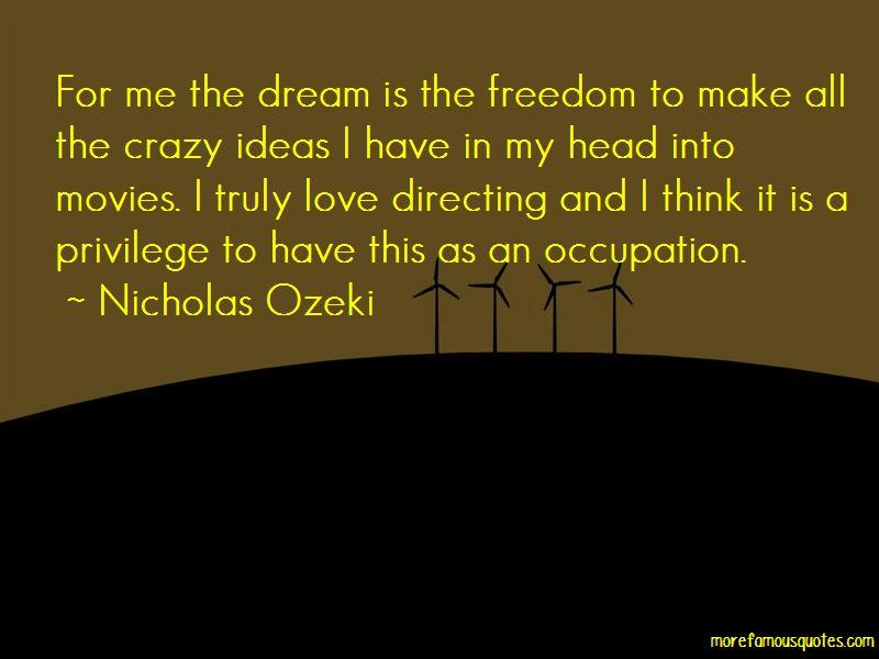 Nicholas Ozeki Quotes