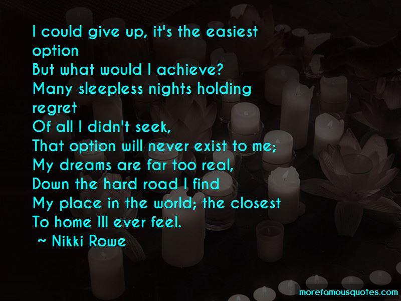 Nikki Rowe Quotes Pictures 3