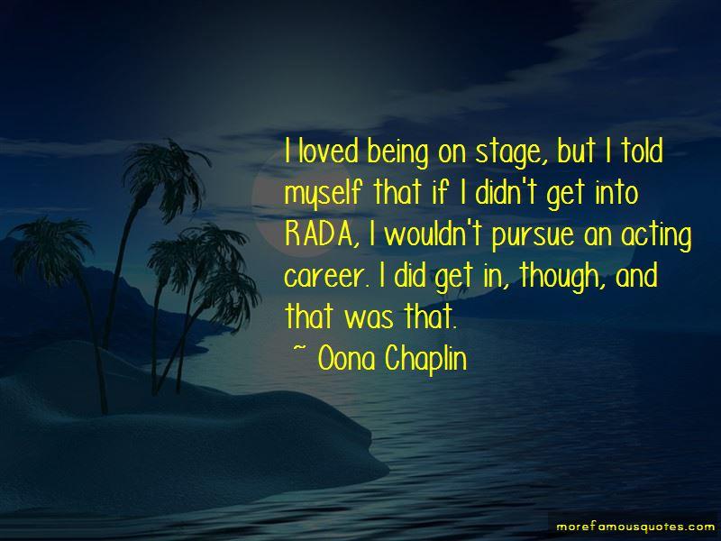 Oona Chaplin Quotes Pictures 3