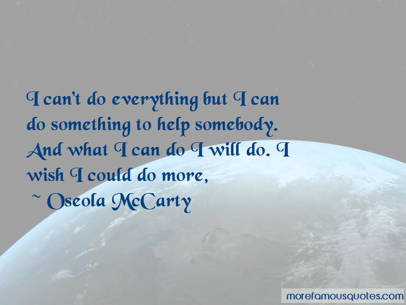 Oseola McCarty Quotes Pictures 2