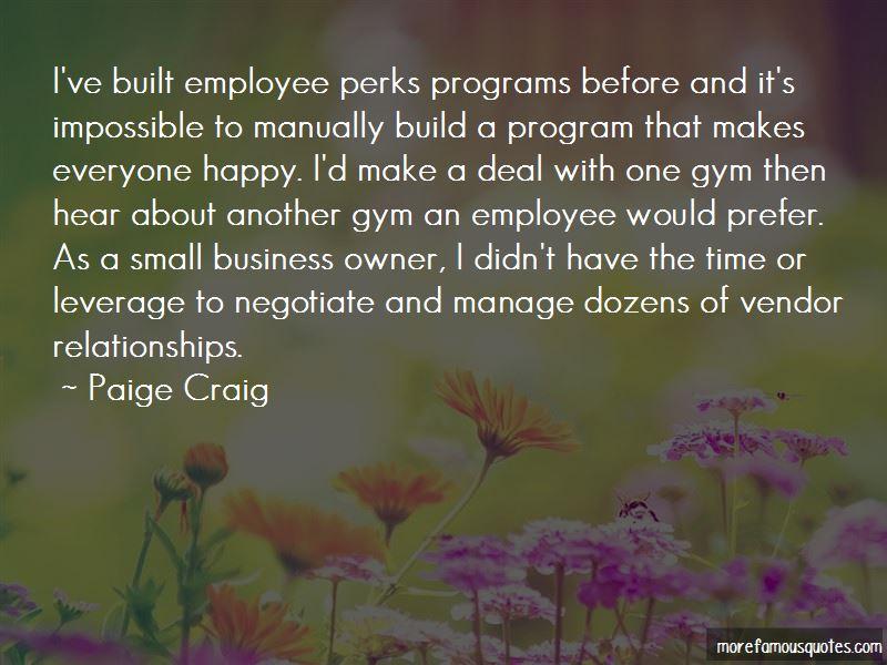 Paige Craig Quotes