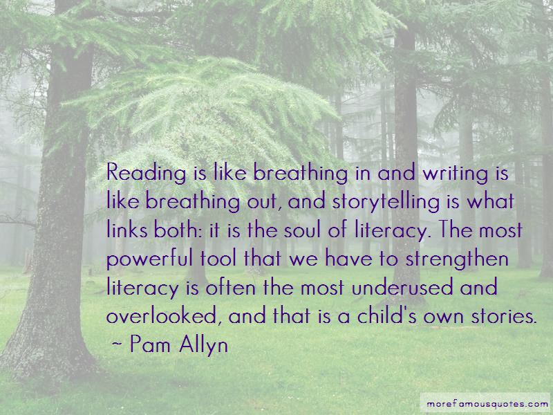 Pam Allyn Quotes