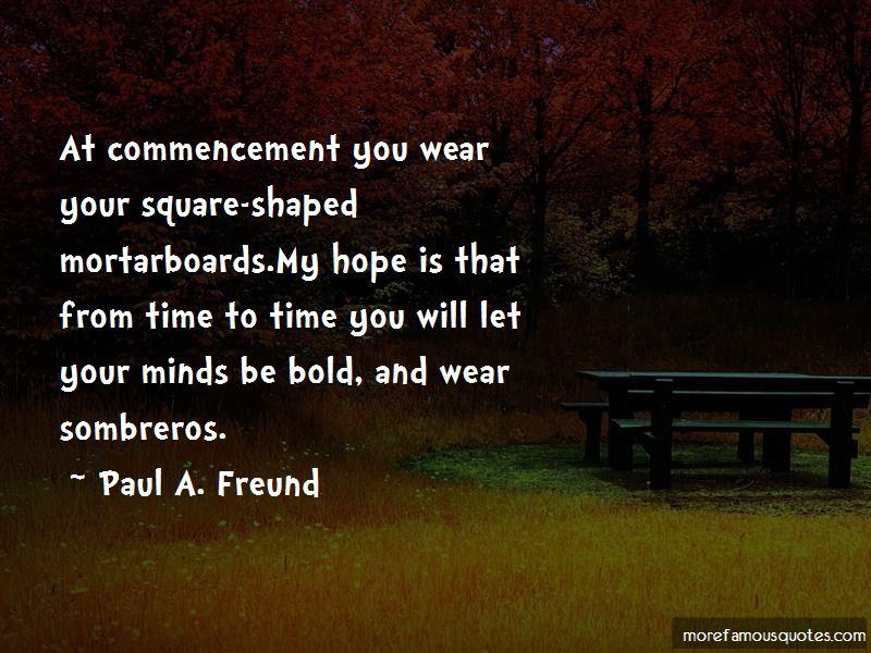 Paul A. Freund Quotes
