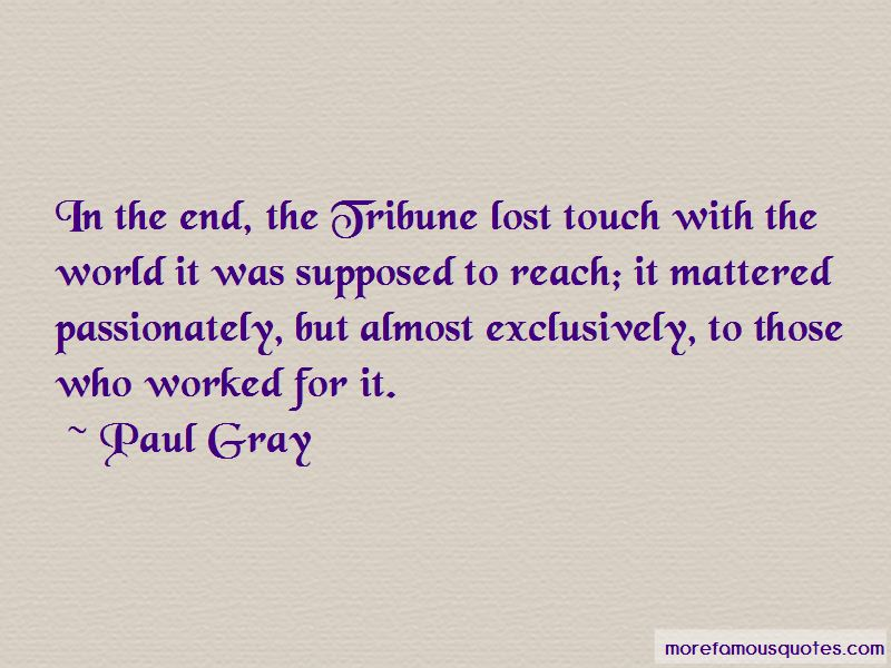 Paul Gray Quotes Pictures 2