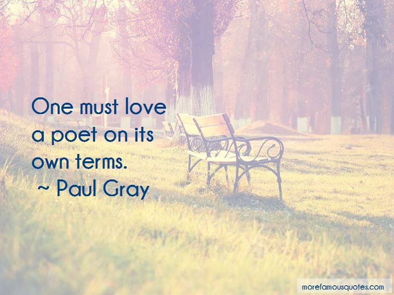 Paul Gray Quotes Pictures 3