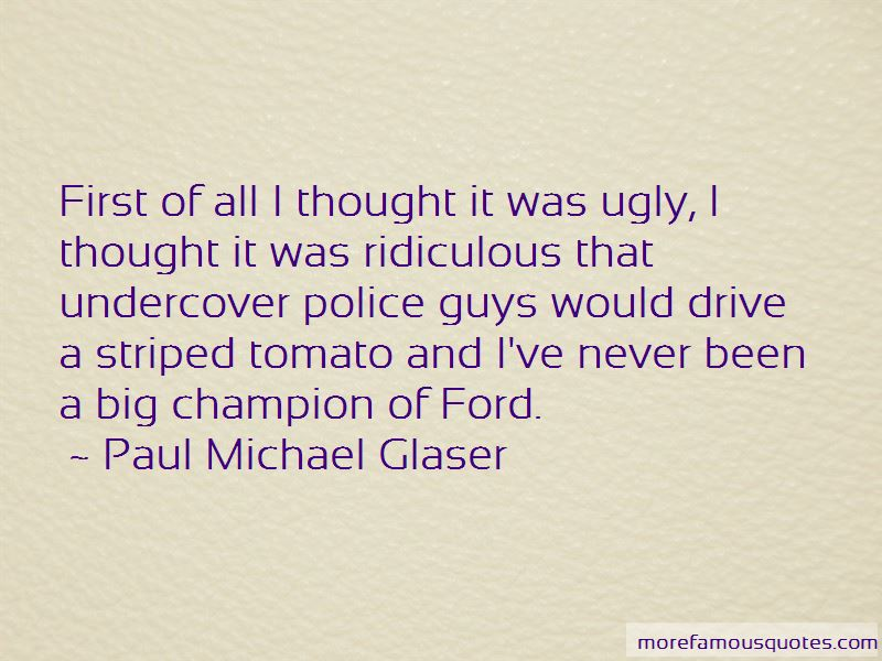 Paul Michael Glaser Quotes Pictures 2
