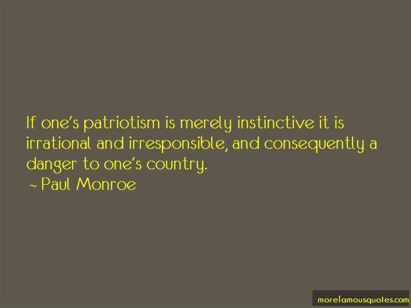 Paul Monroe Quotes