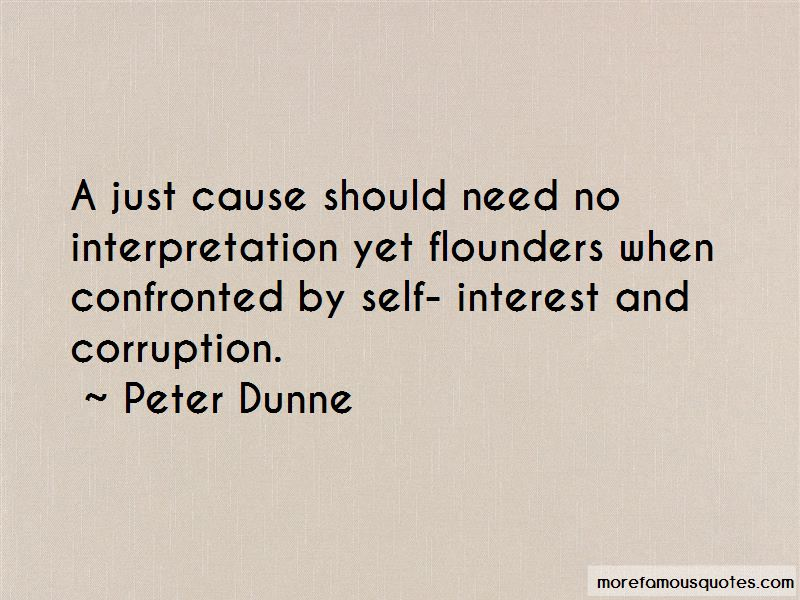 Peter Dunne Quotes