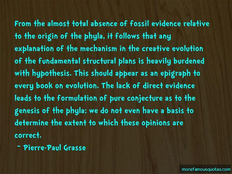 Pierre-Paul Grasse Quotes Pictures 2