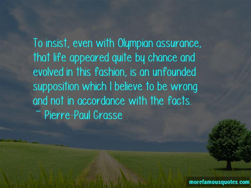 Pierre-Paul Grasse Quotes