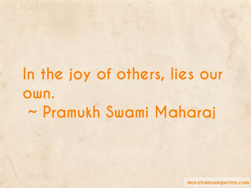 Pramukh Swami Maharaj Quotes Top 2 Famous Quotes By Pramukh Swami