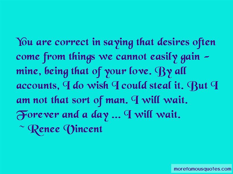 Renee Vincent Quotes
