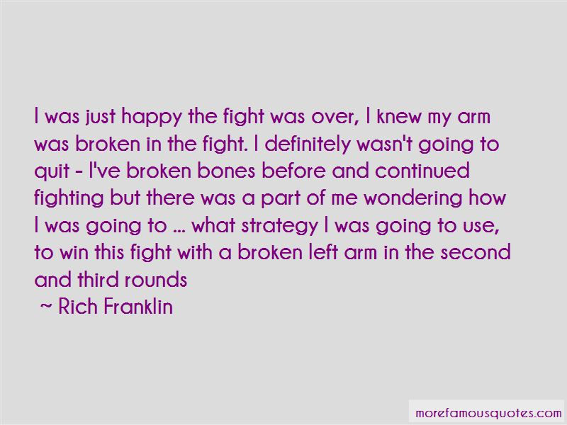 Rich Franklin Quotes Pictures 3