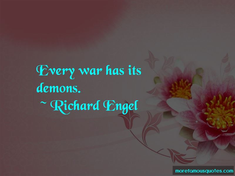 Richard Engel Quotes Pictures 2