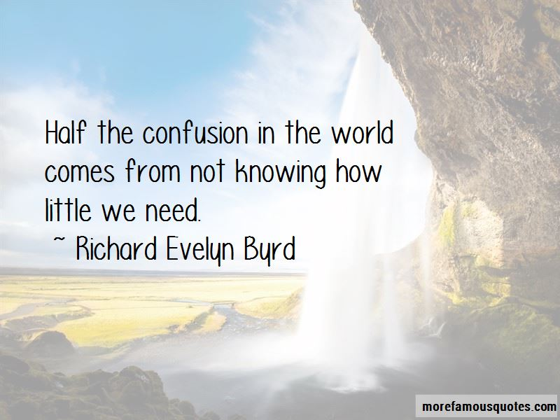 Richard Evelyn Byrd Quotes