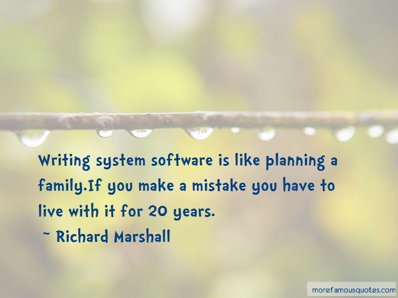 Richard Marshall Quotes Pictures 4