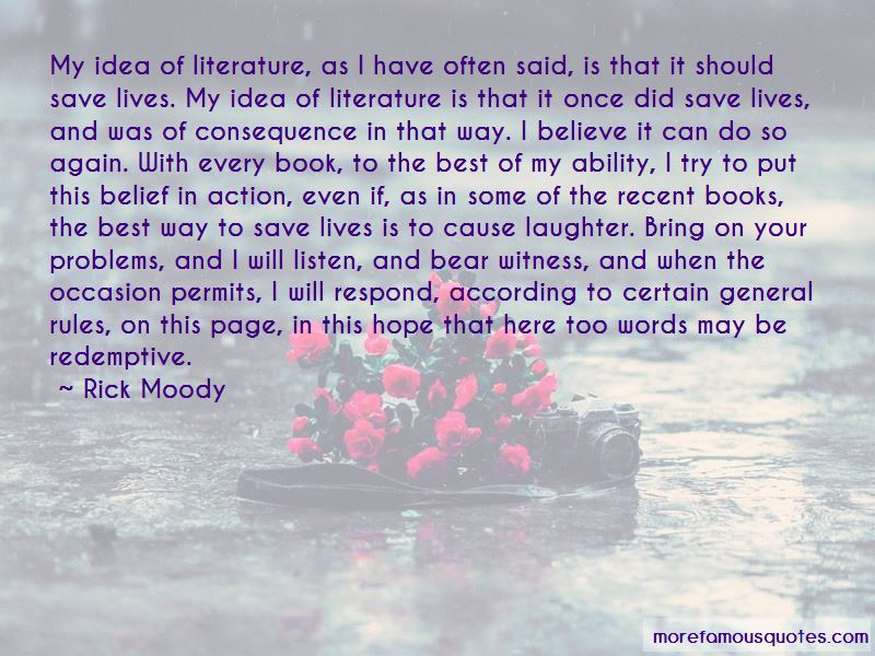 Rick Moody Quotes Pictures 2