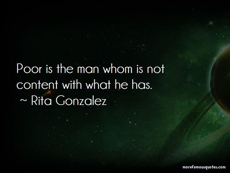 Rita Gonzalez Quotes