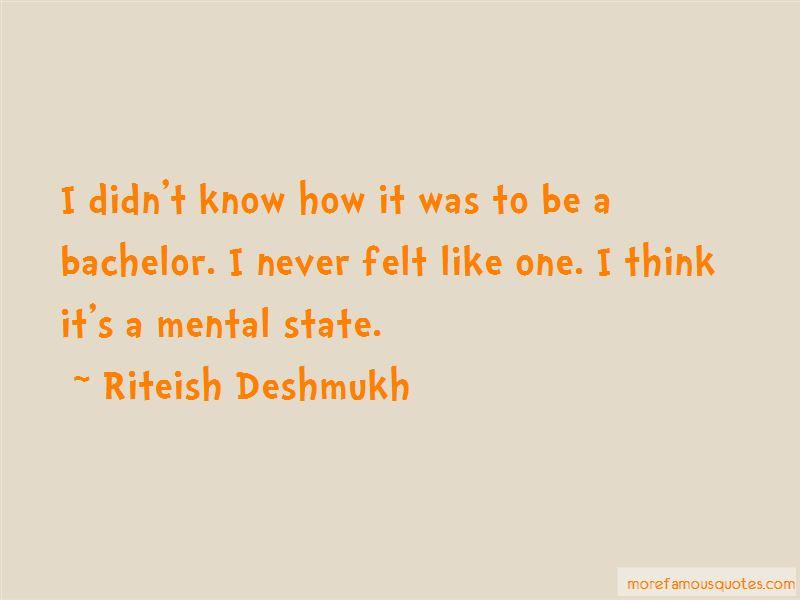 Riteish Deshmukh Quotes Pictures 2